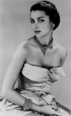 Abito da sera di Christian Dior 1948