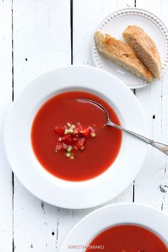Gazpacho z truskawkami