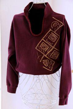 Handpainted sweatshirt