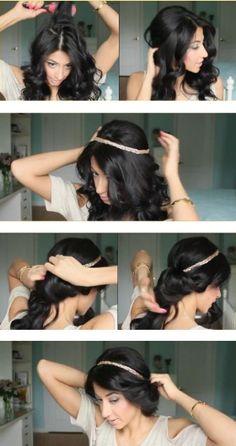 bohoupdo tutorial #Hair