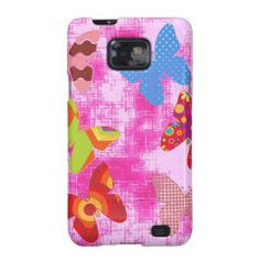Butterflies Galaxy SII Covers #Butterflies #Mobile #Phone #Samsung