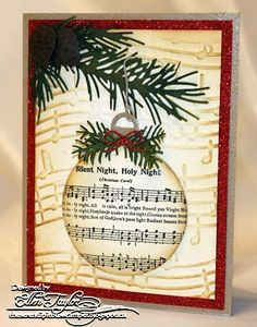 Singing Ornament by ellentaylor - Cards and Paper Crafts at Splitcoaststampers