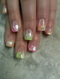 Encapsulated nail art