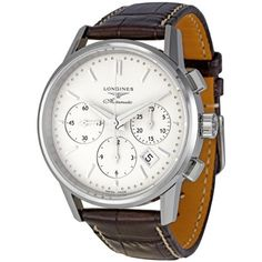 Longines Flagship Heritage Silver Dial Automatic Chronograph Mens Watch... - http://watchesntime.com/longines-flagship-heritage-silver-dial-automatic-chronograph-mens-watch/