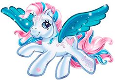 """""""The legend of the Pegasus pony goes back to the beginning of pony history. Tradition says that these magical, mysterious ponies are the greatest wish-granters of all. If you wish for something hard enough, a Pegasus pony just might appear and help you discover that you have the power to make your wishes come true!"""""""