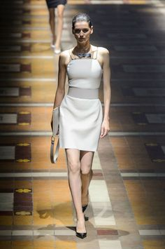 """<p tabindex=""""-1"""">Lanvin spring 2015 collection show. Photo: Imaxtree</p>"""