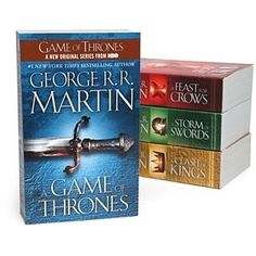 Game of Thrones Boxed Set    $29.99