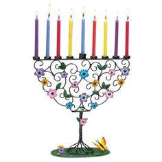 Glowing colors painted upon this Metal Multi-Color Menorah Flowering Tree Hand-Crafted display pleasure! Hanukkah Menorah, Hannukah, Gay Christmas, Bat Mitzvah Gifts, Rosh Hashanah, Flowering Trees, Paint Colors, Red, Pink