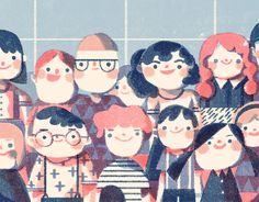 Illustration for Time Out Kids by Lisk Feng.
