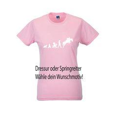 T-Shirt in Candypink Evolution Springreiter oder Dressur, 17,99 €