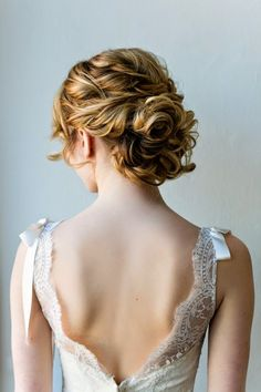 Bridal Hairstyle updo With Brooch For Teens
