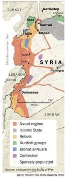 Institute for the Study of War map of Syria Foreign Policy, Syria, Integrity, Study, War, News, Awesome, Studio, Data Integrity