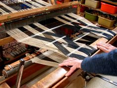 Peter Collingwood | master weaver + author + teacher | b. 1922: Marylebone, London, U.K. | 1952: established workshop in Archway, North London | 1964: set up home + studio at Nayland, near Colchester, Essex | 1974: awarded OBE | d. 2008