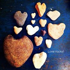 'Love Rocks' by @misskodachrome