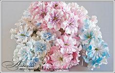 очень красивые цветы ручной работы