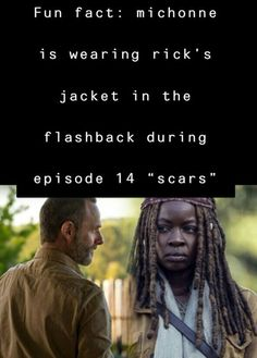 Rick And Michonne, The Walking Dead, Behind The Scenes, Fun Facts, Universe, Walking Dead, Cosmos, Funny Facts, Space