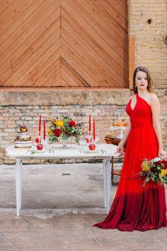 Harvest Red Wedding Inspiration