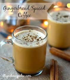 Gingerbread Spiced Bulletproof Coffee Stupid Easy Paleo - Easy Paleo Recipes to Help You Just Eat Real Food ___ More Recipes? Visit our site now! Paleo Recipes Easy, Real Food Recipes, Cooking Recipes, Real Foods, Holiday Drinks, Holiday Recipes, Butter Coffee Recipe, Yummy Drinks, Yummy Food