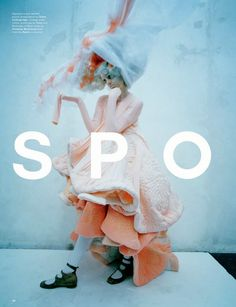 """Spooky"": Agyness Deyn by Tim Walker for Love #13 Spring/Summer 2015"