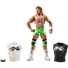 WWE Wrestling Elite Series 27 Billy Gunn Action Figure [2 Shirts & 2 Headbands], Multicolor