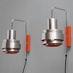 Pair of Wall Lights by Jo Hammerborg for Fog & Mørup