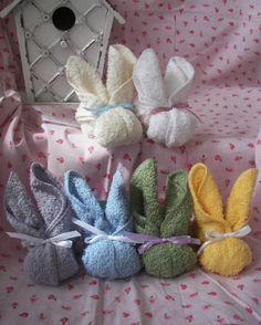 Bunny Washcloth Soaps