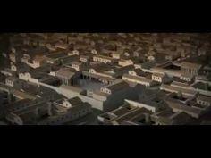 Itálica - Ciudad Romana. Montaje audiovisual con recreaciones infográficas de los principales edificios de la ciudad.