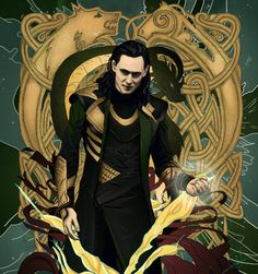 God of Mischief by PatheticMortal Fan Art / Digital Art / Painting & Airbrushing / Movies & TV©2013 PatheticMortal