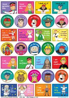 The Pedagogs PYP Attitudes Reward Stickers