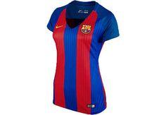 2016/17 Nike Women's FC Barcelona Home Jersey. Hot at www.soccerpro.com