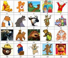 book 3 the bears picnic pinterest berenstain bears picnics rh pinterest com famous cartoon bear names cartoon koala bear names