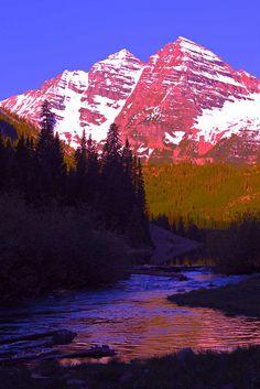 For Whom the Bells Toll, Maroon Creek, near Aspen, Colorado     Flickr - Photo Sharing!