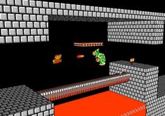 This guy created an augmented reality version of the original 'Super Mario Bros.'