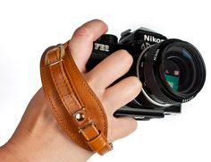 Leather Handstrap. I don't want this. I neeeeed this.