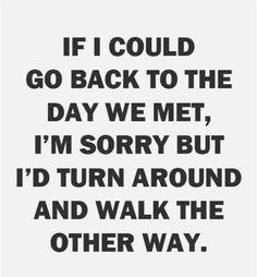 I would walk ... maybe even RUN!