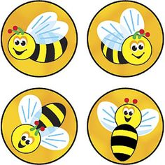 800 colourful Bees Buzz reward stickers in 4 different designs ideal for praising good behaviour or marking charts and work Best Friend Birthday Cards, Bee Activities, Reward Stickers, Bee Party, Cute Bee, Bee Crafts, Child Day, Bees Knees, Classroom Decor