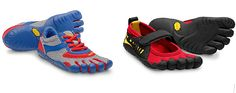 These @Vibram FiveFingers are so much cuter in kids' sizes.