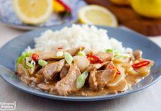 Kurczak cytrynowy z ryżem. Pyszne danie, które zrobisz w 15 minut. PRZEPIS Poultry, Beef, Food, Products, Diet, Meat, Backyard Chickens, Essen, Meals
