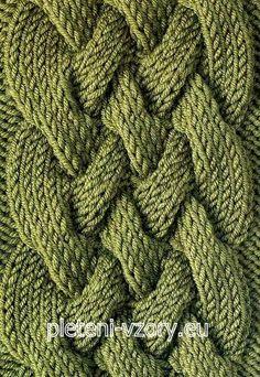 Vzor č. 116 – Kaleidoskop vzorů pro ruční pletení Cable Knitting Patterns, Birthday Wallpaper, Knits, Dots, Tricot