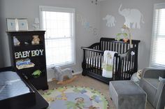 PBK jungle themed nursery