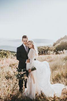 Ethereal mountain wedding inspiration   Image by Autumn Nicole Photography