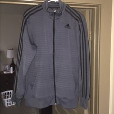 Like new adidas jacket Men's sized Large... In perfect condition... Highly reduced! Adidas Jackets & Coats