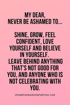 No more feeling unworthy. You deserve to feel as amazing as you are and not be ashamed of it. Learn how to build confidence and with these 23 ways to build self-confidence and self-esteem. Self-love: 23 Ways to Build Confidence Self Love Quotes, Words Quotes, Me Quotes, Sayings, Positive Affirmations For Success, Positive Quotes, Short Inspirational Quotes, Motivational Quotes, Inspiring Quotes