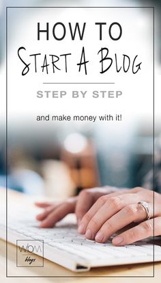 How To Start A Blog! • Learn how to start your own blog. We walk you through, step by step complete with screen shots and directions!