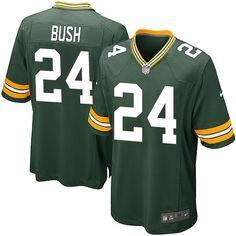 Nike Elite Green Bay Packers Jarrett Bush 24 Green NFL Jersey for Sale Sale