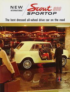 advertising 1966 International Scout 800 Sportop by aldenjewell, via Flickr