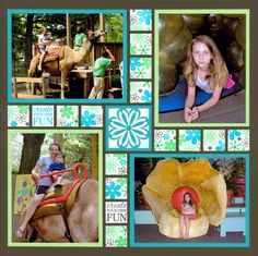 four photo layout
