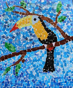 """I've been wanting to create something with a """"Toucan"""" as the theme. The other day when we went to the Dallas World Aquarium and I fin..."""
