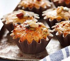 Baking/Leivonta: Italian muffins/italialaiset suolaiset muffinssit