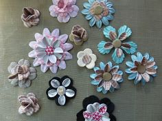 Craftwork Cards Blog Candy Flowers, Diy Flowers, Paper Flowers, Craftwork Cards, Card Tricks, Flower Ideas, Craft Work, Art Journaling, Scrapbooks